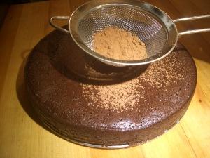chocolate torte 130