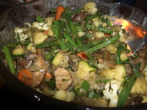 Vegetable Medley with Fresh Herbs